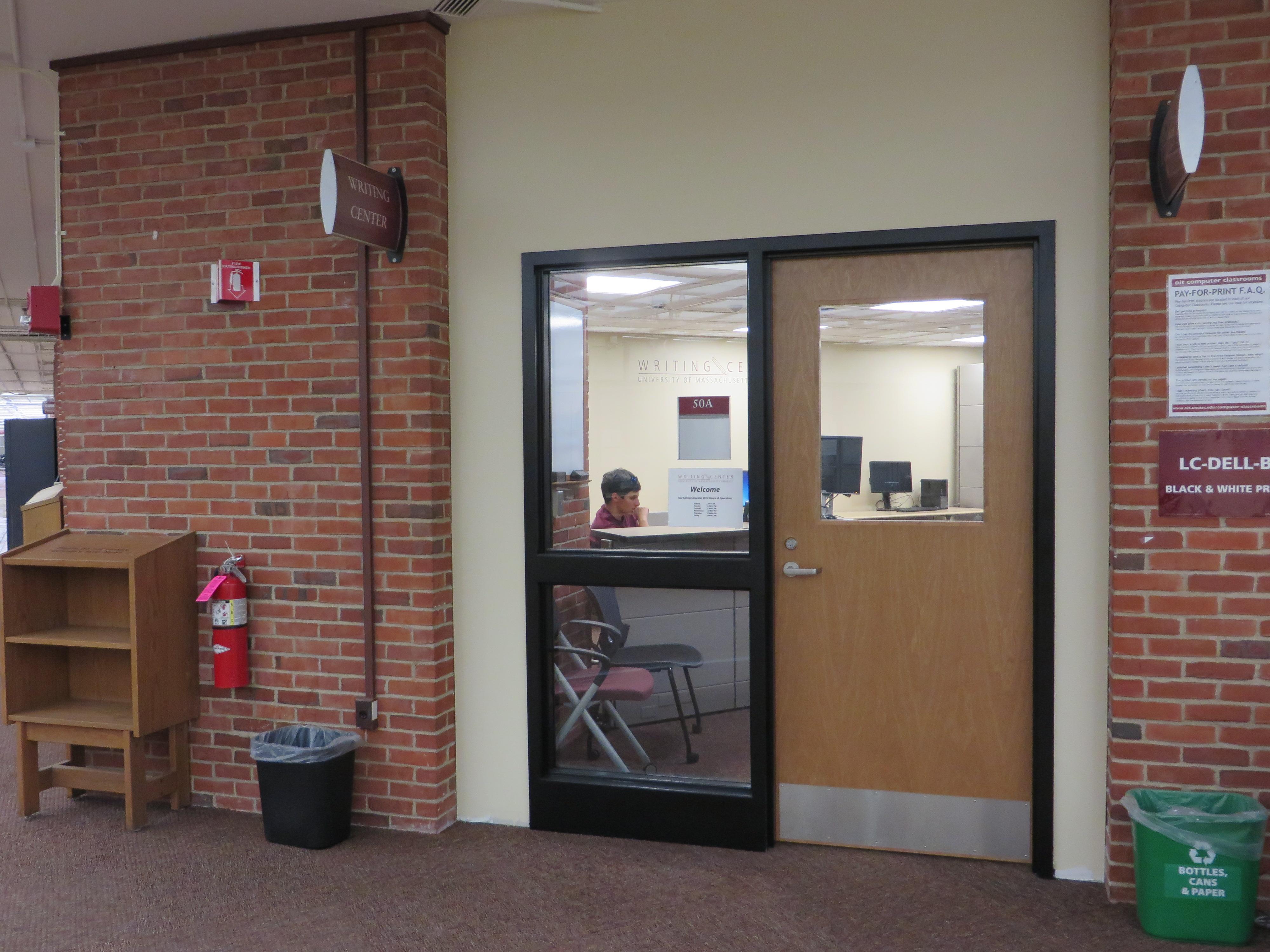 Umass writing center