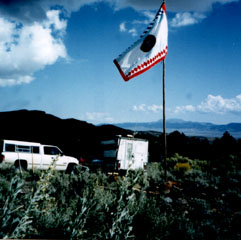 Western Shoshone flag
