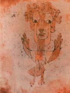 paul klee, angelus novus 1920