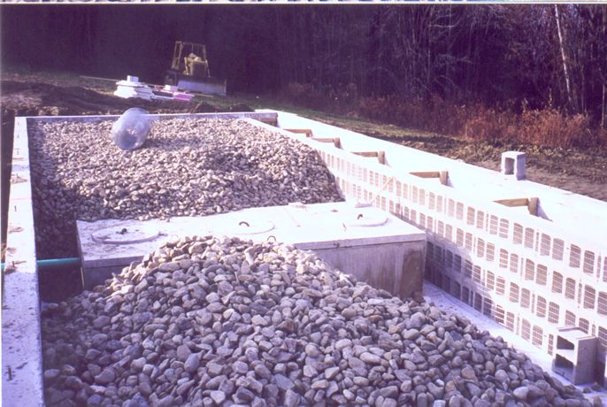 stones partially loaded