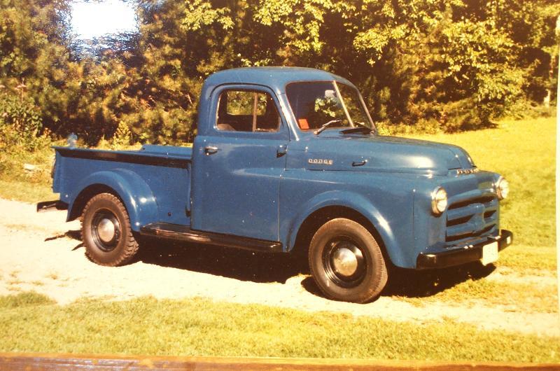 1952 Dodge half-ton pickup