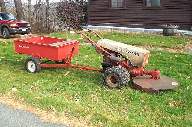 Two Wheel Tractor Attachments : Gravely tractors